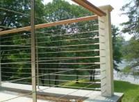 Deck, patio, porch, balcony cable railing