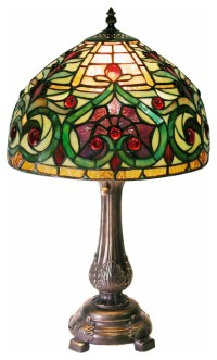 Tiffany-style Decorative Table Lamp - Traditional - Table ...