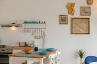 Shabby Chic Beach Cottage - Mediterranean - Kitchen - Other