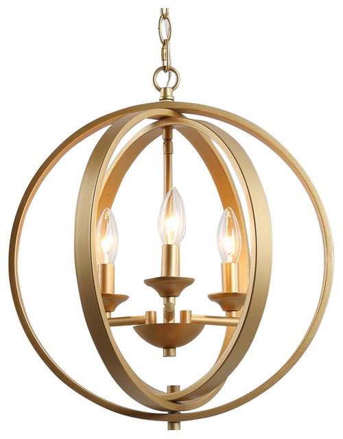3 light modern chandeliers 3 circle gold kitchen island lighting