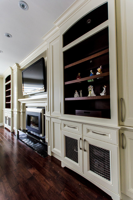 large living room wall mirrors ideas for decorating the fireplace/ tv unit - traditional ...