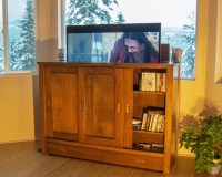 Automated TV LIFT CABINET (The Castlegar) - Midcentury ...