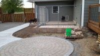Landscaping queens new york, patio pavers for dog kennel