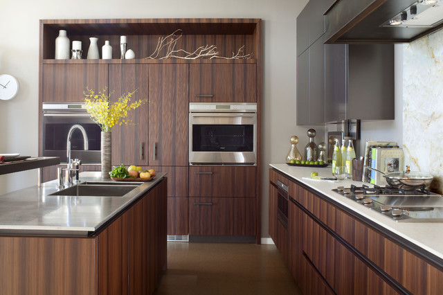 Denver Organic Contempoarary  Kitchen  Denver  by Exquisite Kitchen Design