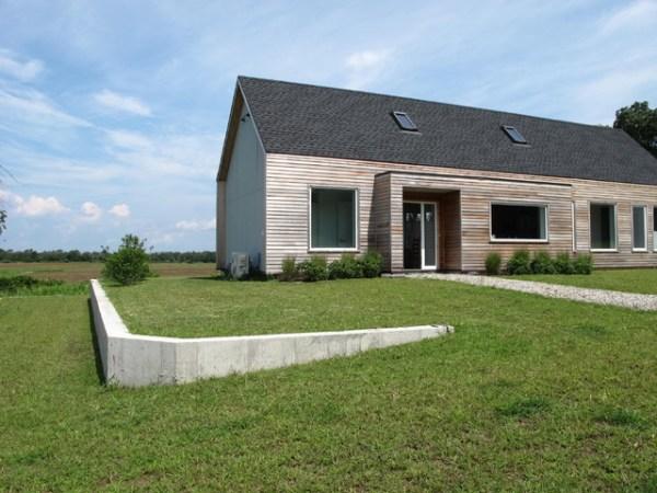 concrete retaining wall - contemporary