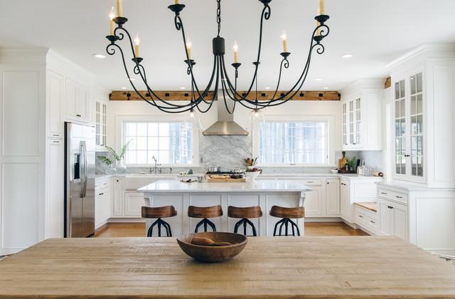 Cooperstown Farmhouse farmhouse-kitchen