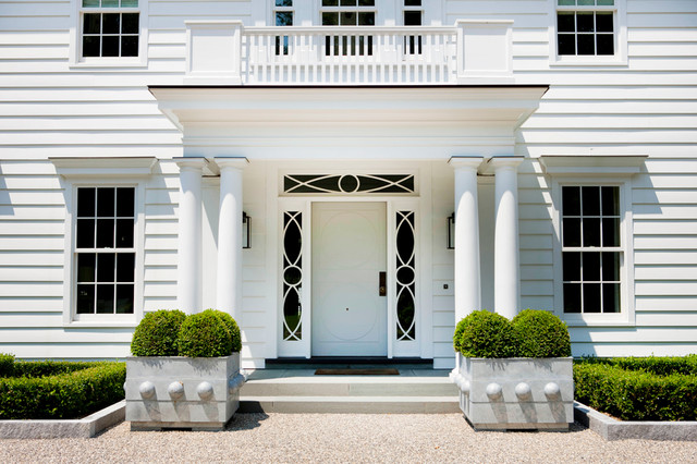 Modern colonial  Traditional  Entry  New York  by
