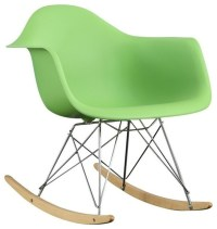 Rocker Lounge Chair - Midcentury - Rocking Chairs - by Apt2B