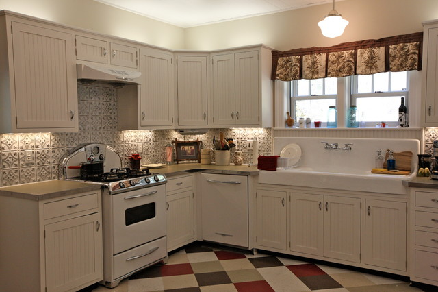 metal kitchen backsplash small island with chairs rustic update - tampa by ...