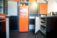 Retro-Inspired 70's Kitchen - Eclectic - Kitchen ...