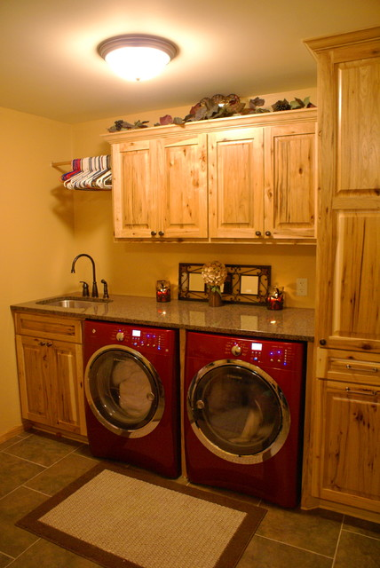 Rustic Laundry Room  Traditional  Laundry Room