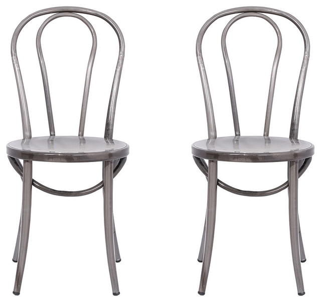industrial bistro chairs bedroom chair covers cassidy set of 2 dining by