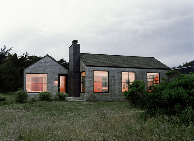 Sea Ranch Residence  Transitional  Exterior San