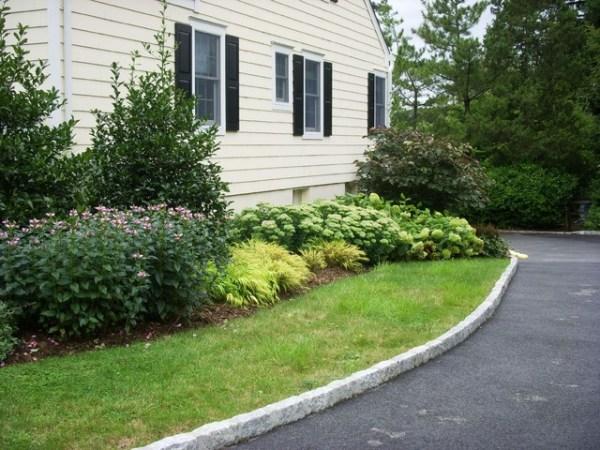 driveway landscape renovation