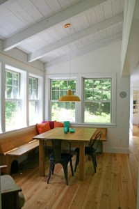 Eating Nook - Farmhouse - Dining Room - by Moore Design ...
