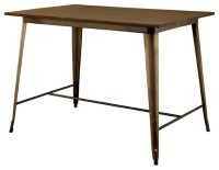 Furniture of America Cooper II Counter Height Dining Table ...