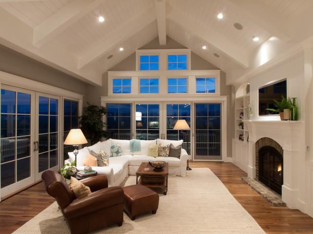 Houndstooth Residence  Traditional  Family Room  Denver  by Godden Sudik Architects Inc