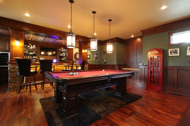 Irish Pub Addition Traditional Family Room Other By Vance