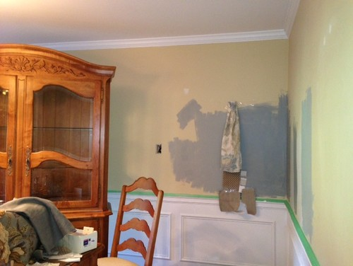 grey painted chairs fold out foam chair help decide paint color- sea haze or puritan gray in my dining rm