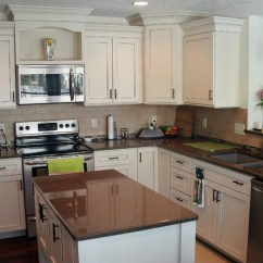 Top Rated Kitchen Cabinets Inside Cabinet Organizers Painted White - Traditional Omaha ...