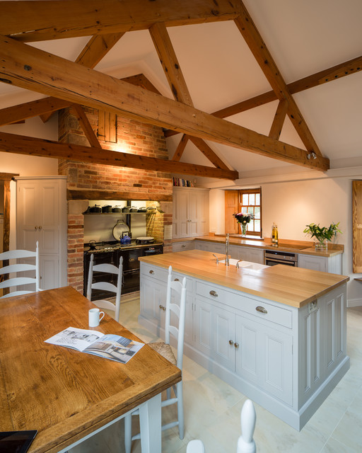 Kitchen In Barn Conversion Rutland Leicestershire Traditional