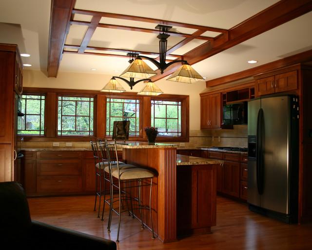 Prairie Style Ranch Remodel Kitchen