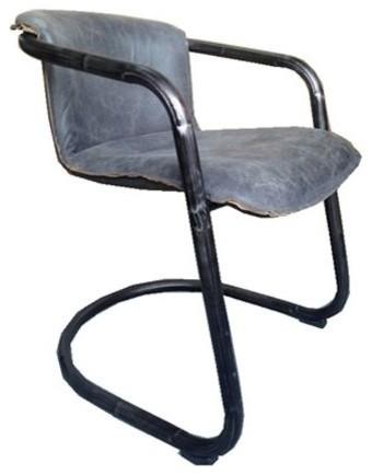 leather dining chairs modern walmart kids chair full grain genuine by artefac