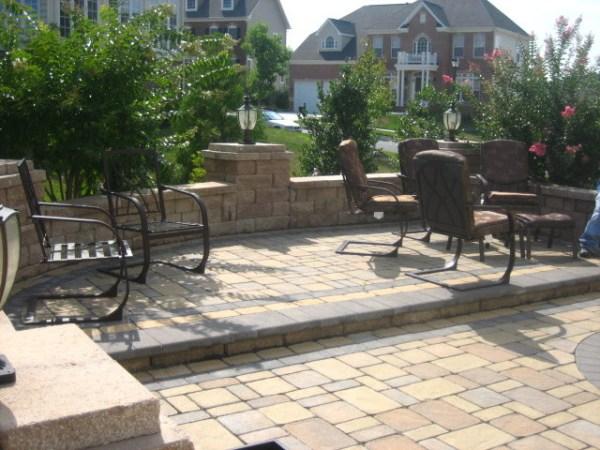 backyard hardscape - traditional