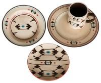 Artesia Native Dinnerware Set - Southwestern - Dinnerware ...