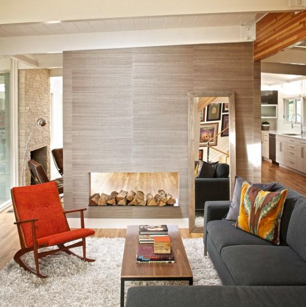 mid century modern living room design MID-CENTURY MODERN RESIDENCE - Modern - Living Room - Denver - by Swiss Milk Studio
