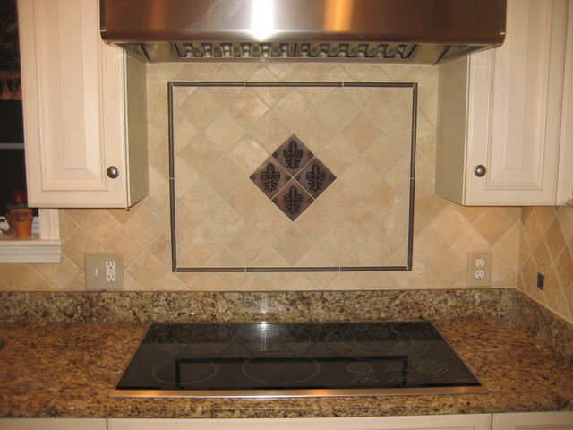 Kitchen Backsplash  Traditional  Kitchen  Boston  by