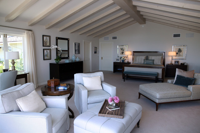 black and white themed living rooms furniture for small room ideas california ranch style home - contemporary bedroom los ...