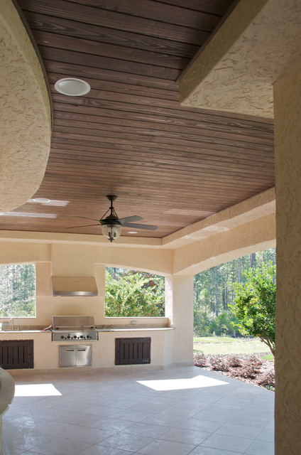 Faux Wood Beam Ceiling Designs  Traditional  Patio  New