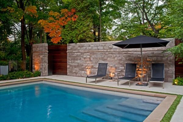 landscape - contemporary pool