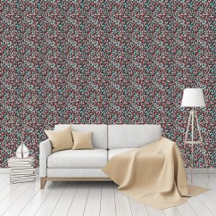 Funky Living Room Wallpaper White Wall Decorations Triangles Patterned Peel Stick Textured By Pepasted Smooth