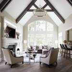 75 Beautiful Living Room With A Bar Pictures Ideas December 2020 Houzz