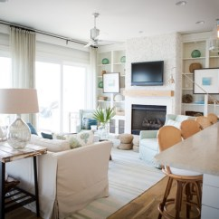 Houzz Living Rooms With Sectionals Room Design Futon Alys Beach - Style Other By Ashley ...