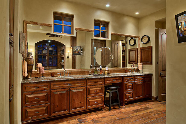 Hill Country Ranch Master Bathroom
