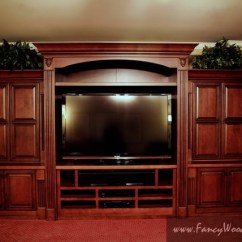Rustic Metal Kitchen Chairs Padded Folding Costco Entertainment Center - Traditional Home Theater Atlanta By Fancy Woodworks