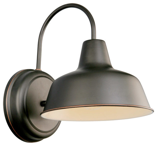 Mason Wall Mount Oil Rubbed Bronze industrial