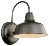 Mason Wall Mount Oil Rubbed Bronze industrial-outdoor-wall ...