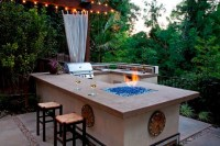 Custom BBQ - Contemporary - Patio - Los Angeles - by Stout ...