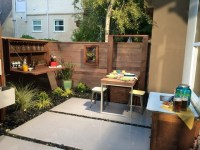 Small Urban Backyard Patio