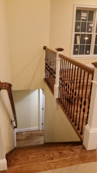 Pics For > Open Basement Stairs