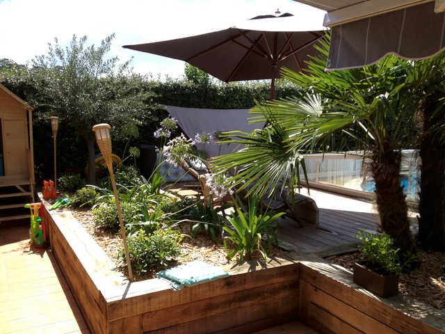 Amnagement jardin  Contemporain  Jardin  Autres primtres  par Nouvel Extrieur