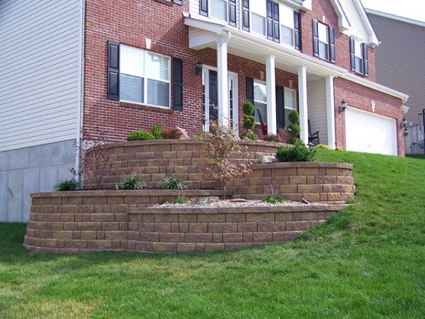 tiered landscape walls