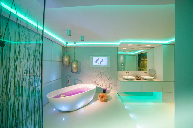 Spadesign mit TV  Modern  Badezimmer  Kln  von TORSTEN MLLER  BAD  SPA DESIGN