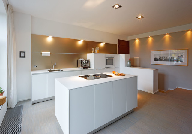 stühle kücheninsel  küche torna 332 alpinweiß