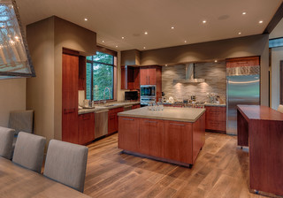 Putter39s Cabin Contemporary Kitchen Sacramento By