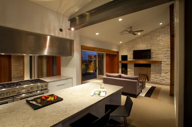 Belfast Residence  Modern  Kitchen  Cincinnati  by Drawing Dept